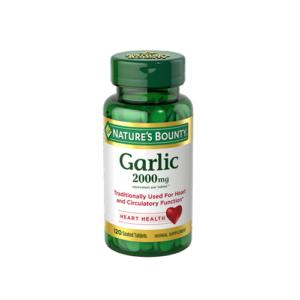 Nature's Bounty Garlic 2000 mg, 120 Ct