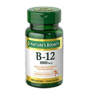 Nature's Bounty Vitamin B12 1000mcg