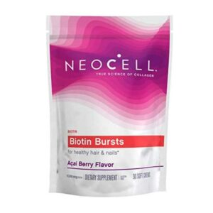 NeoCell-Biotin-Bursts-Acai-Berry-Flavor-10000-mcg-30-Soft-Chewable-vitamins-house