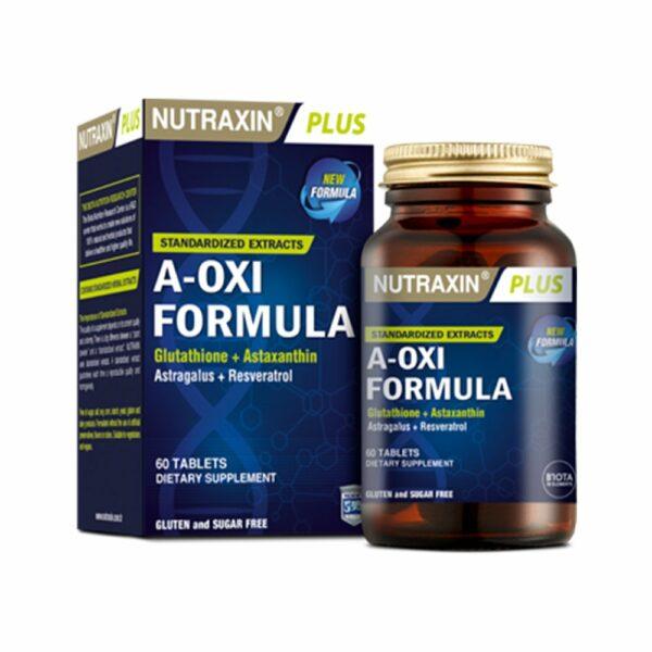 Nutraxin A-Oxi Formula 60 Capsules
