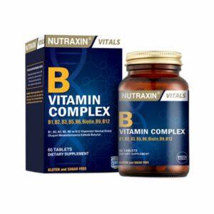 Nutraxin B Vitamin Complex 60 Tablets
