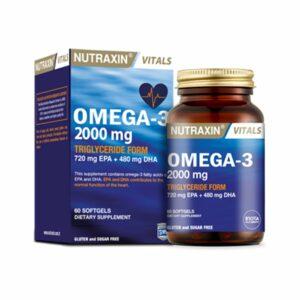 Nutraxin Omega-3 60 Softgels