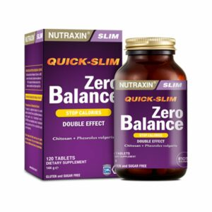 Nutraxin Quick-Slim Zero Balance 120 Tablets