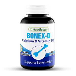 Nutrifactor Bonex-D (60 Tablets)
