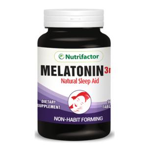 Nutrifactor Melatonin 3 mg (90 Tablets)