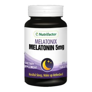 Nutrifactor Melatonix Melatonin 5mg