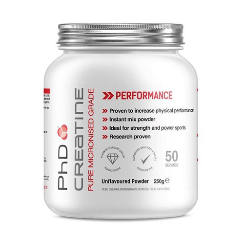PHD Creatine Monohydrate 250GM   50 Servings
