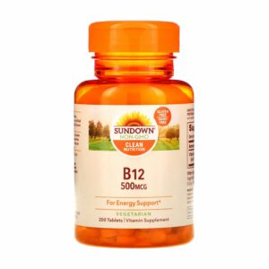 Sundown-Naturals-B12-500mcg-200-Tablets-vitamins-house