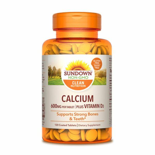 Sundown-Naturals-Calcium-Plus-Vitamin-D3-600mg-120-Tablets-vitamins-house