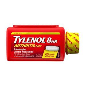 TYLENOL Arthritis 8HR Pain Reliever 650mg 290 Caplets