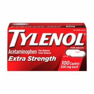 TYLENOL Extra Strength 500mg 100CT