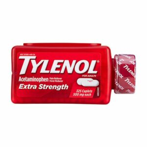 TYLENOL Extra Strength Pain Reliever 500mg 325 caplets
