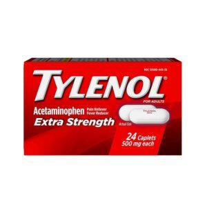 TYLENOL Extra Strength 500mg 24CT