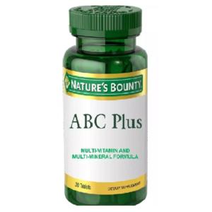 Nature's Bounty ABC Plus Multi-Vitamin and Multi-Mineral Formula