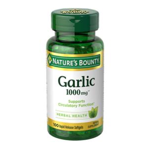 Nature's Bounty Garlic 1000mg