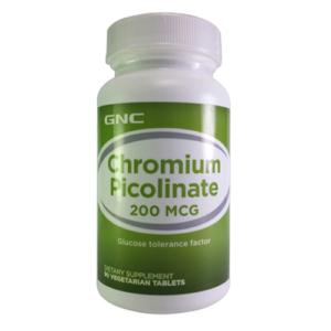 GNC Chromium Picolinate 200mcg – 90 Tablets